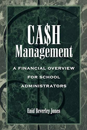 Cash Management: Jones, Enid Beverley; Jones, Enid Beverly