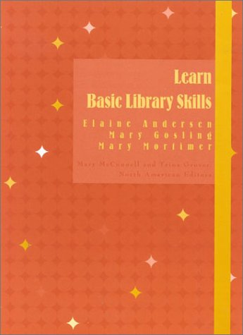 9780810844988: Learn Basic Library Skills (Library Basics Series)