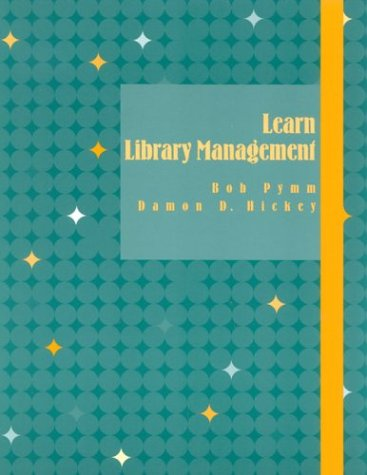 9780810848856: Learn Library Management (Library Basics Series)