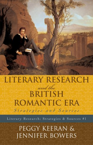 9780810852099: Literary Research and the British Romantic Era: Strategies and Sources (Literary Research: Strategies and Sources)