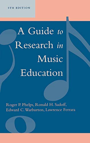 9780810852402: A Guide to Research in Music Education