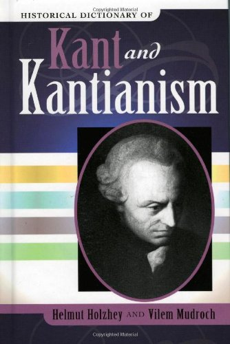 9780810853904: Historical Dictionary of Kant And Kantianism.