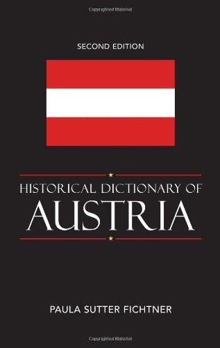 Historical Dictionary of Austria: Fichtner, Paula Sutter