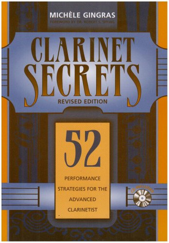 9780810857339: Clarinet Secrets: 52 Performance Strategies for the Advanced Clarinetist