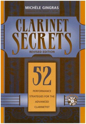 9780810857339: Clarinet Secrets: 52 Proformance Strategies for the Advanced Clarinetist: book & cd