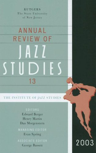 9780810858909: Annual Review of Jazz Studies 13: 2003 (v. 13)