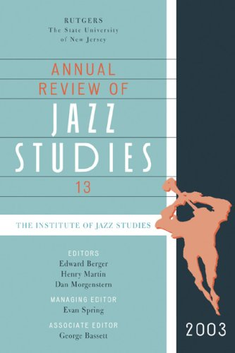 9780810859456: Annual Review of Jazz Studies 13: 2003 (v. 13)