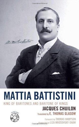 9780810861442: Mattia Battistini: King of Baritones and Baritone of Kings