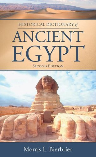 9780810862500: Historical Dictionary of Ancient Egypt