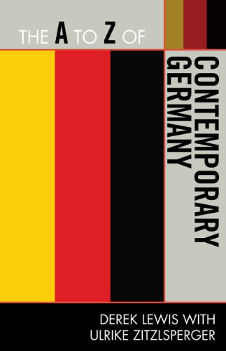 9780810872035: The A to Z of Contemporary Germany (The A to Z Guide Series)