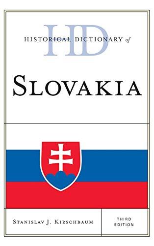 Historical Dictionary of Slovakia: Kirschbaum, Stanislav J.