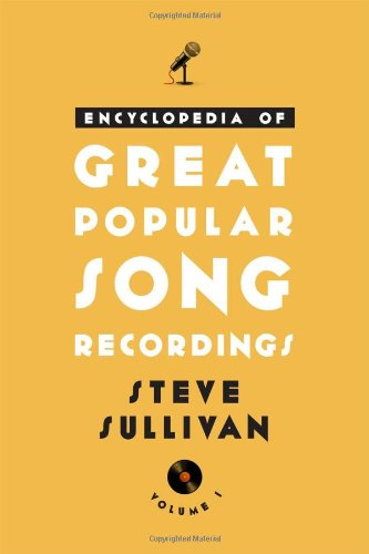 9780810882959: Encyclopedia of Great Popular Song Recordings (Volume 1 and 2)