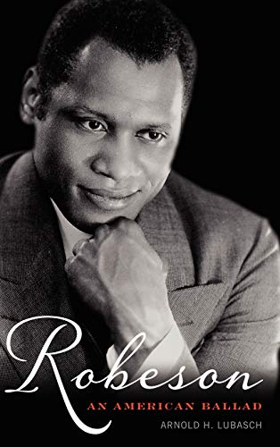 9780810885226: Robeson: An American Ballad