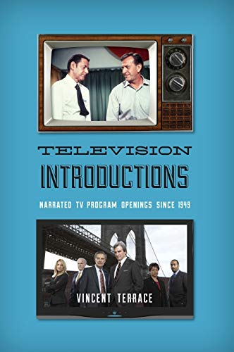 9780810892491: Television Introductions: Narrated TV Program Openings since 1949
