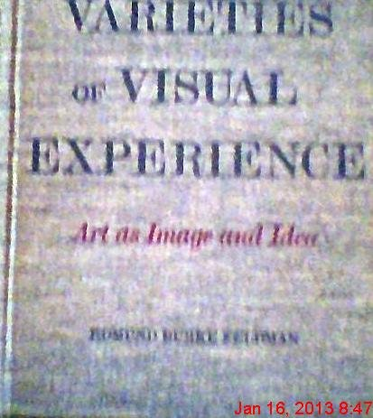9780810900271: Varieties of visual experience;: Art as image and idea