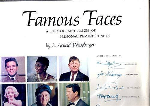 9780810901155: Famous faces;: A photograph album of personal reminiscences,