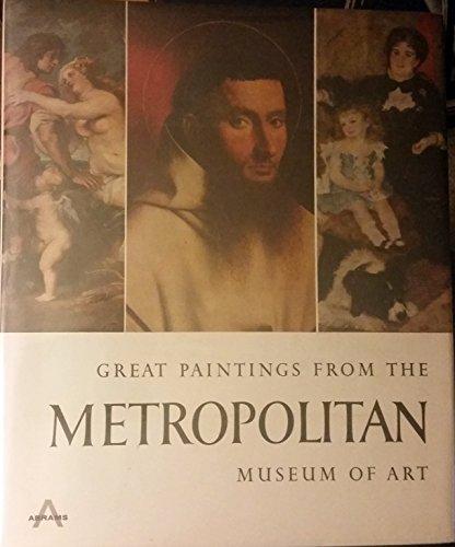 9780810902961: Great Paintings from the Metropolitan Museum of Art