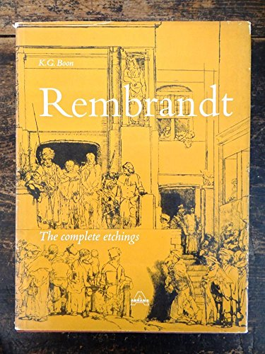 9780810904408: Rembrandt (The Complete Etchings )