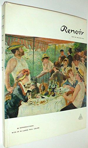 9780810904460: Pierre Auguste Renoir (Library of Great Painters)