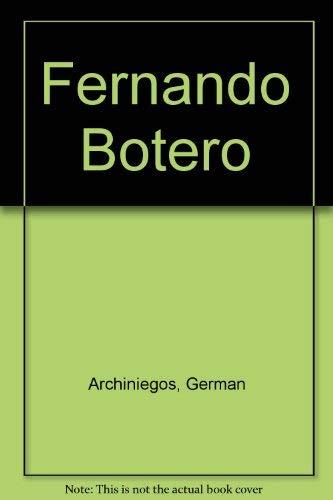 9780810904606: Fernando Botero