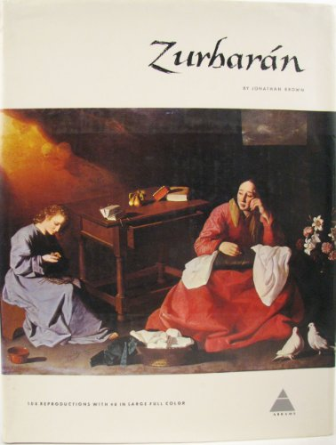 9780810905498: Zurbaran (Library of Great Painters)