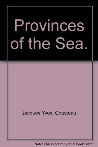 9780810905856: Provinces of the Sea.