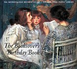 9780810907416: The Booklover's Birthday Book