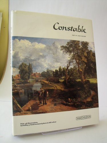 The Library Of Great Painters: John Constable: Walker, John (text); John Constable (paintings)