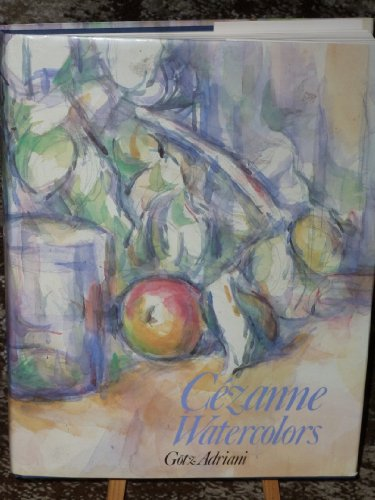 9780810907843: Cezanne Watercolors (English and German Edition)
