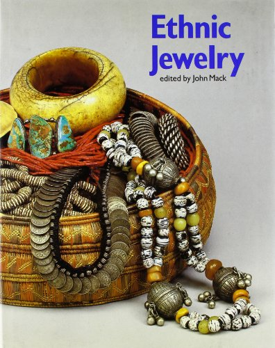Ethnic Jewelry 9780810908918 Profiles a wide variety of jewelry from around the world, including African beadwork, American Indian silver, Far Eastern jade, and others, detailing how it is made and worn, its relation to the culture and more.