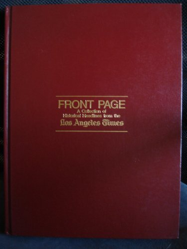 9780810909250: Front Pages, 1881-1981: 100 Years of the