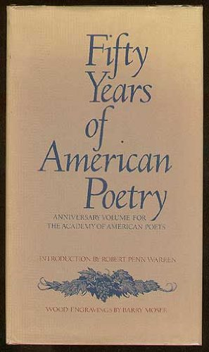 9780810909342: Fifty Years of American Poetry: Anniversary Volume for the Academy of American Poets
