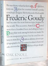 9780810910355: Frederic Goudy (Masters of American Design)