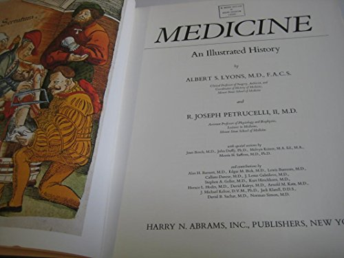 9780810910546: Medicine: An Illustrated History