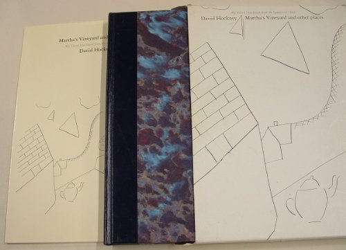 Martha's Vineyard and Other Places: My Third Sketchbook from the Summer of 1982: Hockney, ...