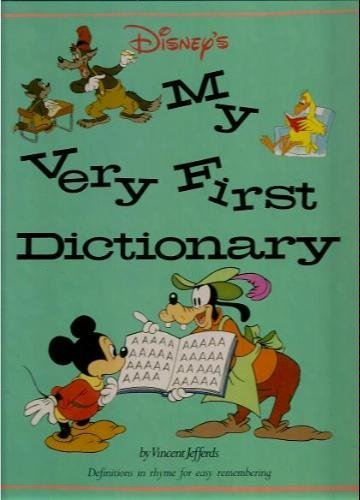 9780810911468: Disney's My Very First Dictionary