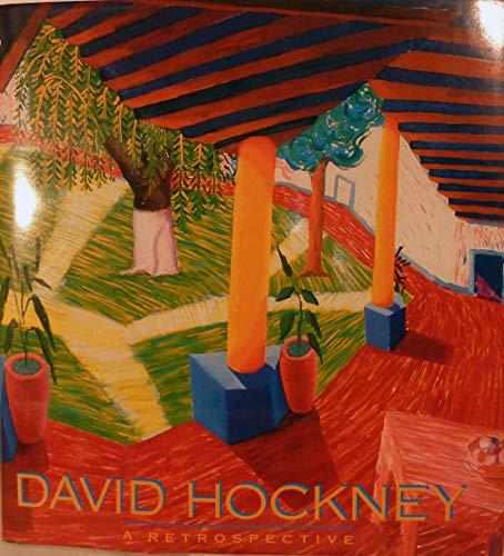 9780810911673: David Hockney: A Retrospective