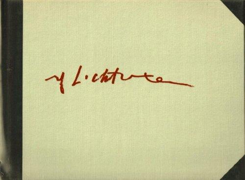 Roy Lichtenstein: Landscape Sketches 1984-1985.: Roy Lichtenstein Constance and Jack Glenn.