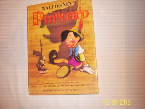 9780810914674: Walt Disney's Version of Pinocchio