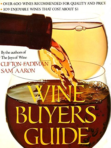 9780810920637: Wine Buyers Guide