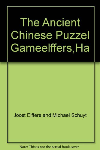 Tangram: The Ancient Chinese Puzzle Game (081092174X) by Joost Elffers; Michael Schuyt