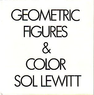 9780810921962: Sol LeWitt: Geometric Figures and Colour