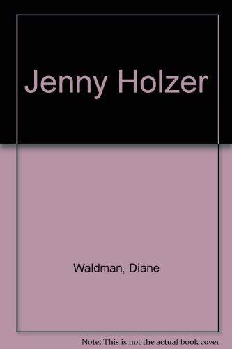 9780810924505: Jenny Holzer