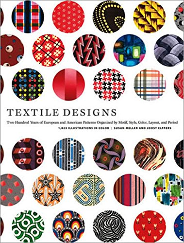 9780810925083: Textile Designs: Two Hundred Years of European and American Patterns Organized by Motif, Style, Color, Layout, and Period