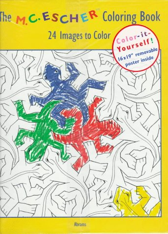 9780810926356: The M.C. Escher Coloring Book: 24 Images to Color