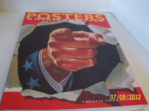 9780810927803: Posters American Style
