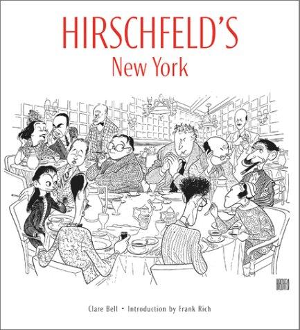 9780810929746: Hirschfeld's New York