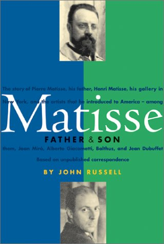 9780810929913: Matisse: Father and Son