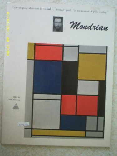 Piet Mondrian (The Library of Great Painters. Portfolio ed): Mondrian, Piet, Hunter, Sam