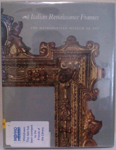 9780810934559: Italian Renaissance Frames